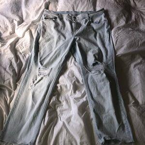 Old Navy- Distressed Boyfriend Jeans
